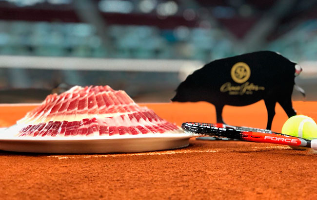 Cinco Jotas au Mutua Madrid Open de Tennis